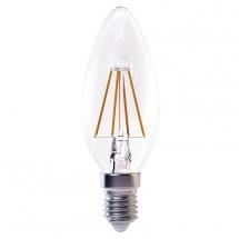 LED žiarovka Emos Z74210, E14, 4W, teplá biela