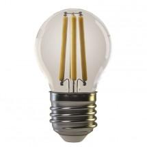 LED žiarovka Emos Z74240, E27, 4W, guľatá, retro, teplá biela