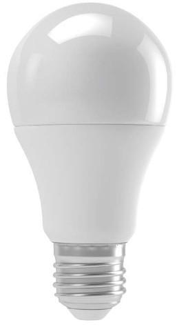 LED žiarovka Emos ZQ5140, E27, 9W, guľatá, číra, teplá biela
