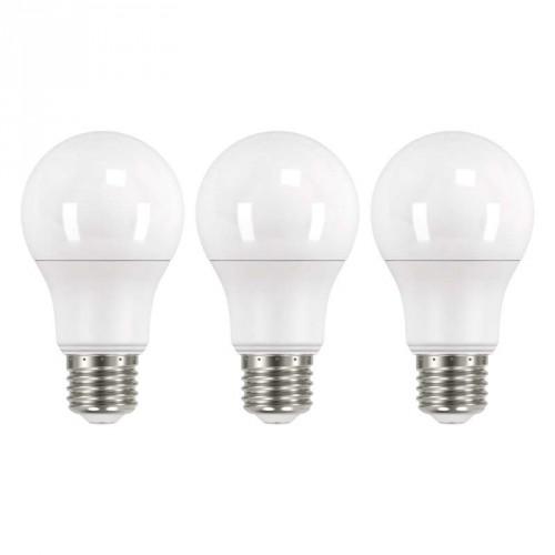 LED žiarovka Emos ZQ51403, E27, 9W, teplá biela, 3 ks
