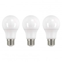 LED žiarovka Emos ZQ51503, E27, 10,5W, teplá biela, 3ks