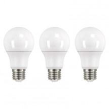 LED žiarovka Emos ZQ51513, E27, 10,5W, neutrálna biela, 3ks