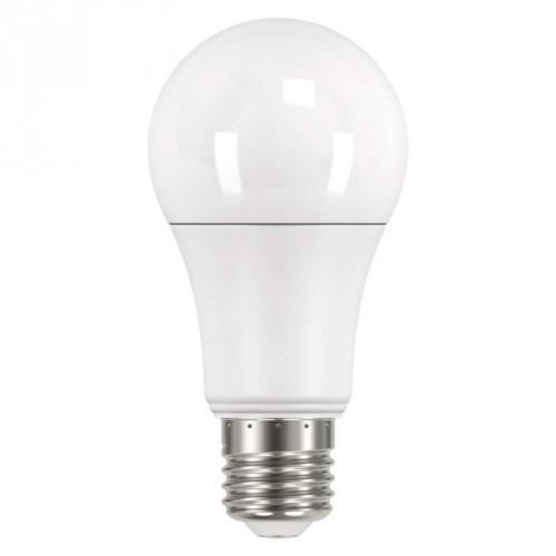 LED žiarovka Emos ZQ5160, E27, 14W, guľatá, číra, teplá biela
