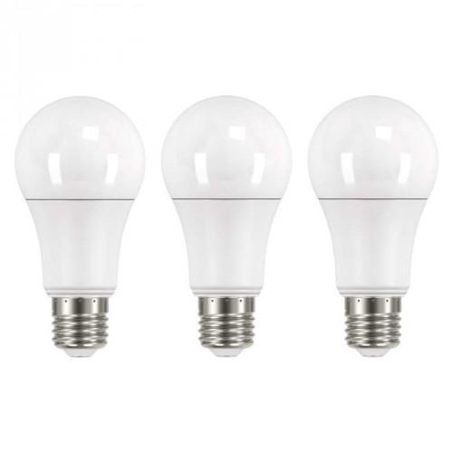 LED žiarovka Emos ZQ51603, E27, 14W, guľatá, teplá biela, 3ks