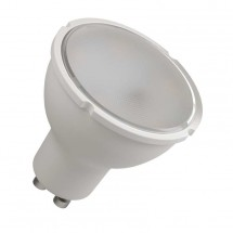 LED žiarovka Emos ZQ8350, GU10, 5,5W, teplá biela