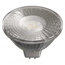 LED žiarovka Emos ZQ8433, GU5.3, 4,5W, číra, teplá biela
