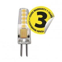 LED žiarovka Emos ZQ8621, G4, 2W, číra, neutrálna biela