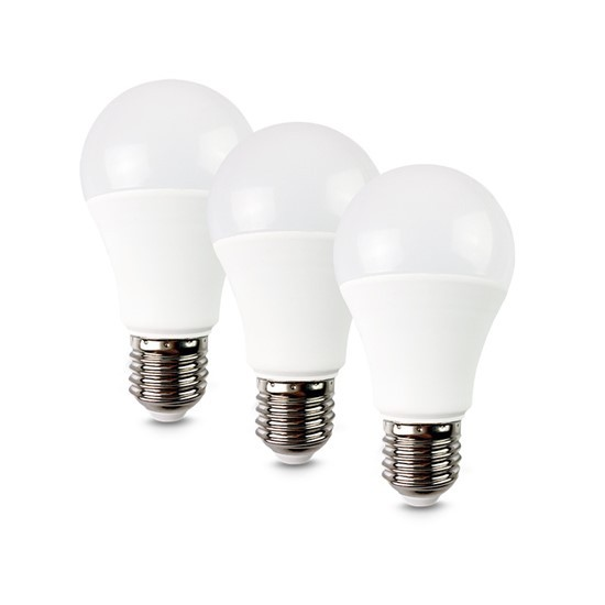 LED žiarovka LED žárovka, 10W, E27, 3000K, 270°, 790lm, 3ks v balení