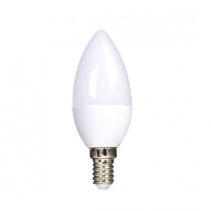 LED žiarovka LED žiarovka Ecolux WZ4313, E14, 6W, sviečka, teplá biela, 3ks