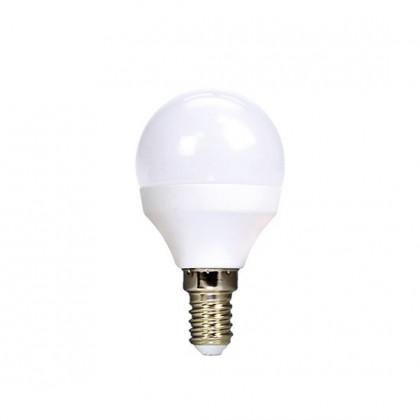 LED žiarovka LED žiarovka Ecolux WZ4333, E14, 6W, guľatá, teplá biela, 3ks