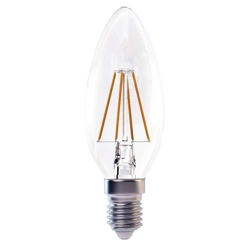 LED žiarovka LED žiarovka Emos Z74210, E14, 4W, teplá biela