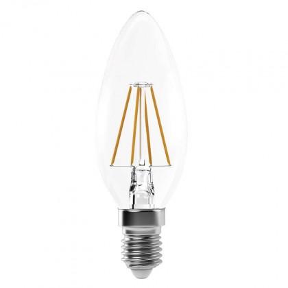 LED žiarovka LED žiarovka Emos Z74214, E14, 4W, sviečka, neutrálna biela
