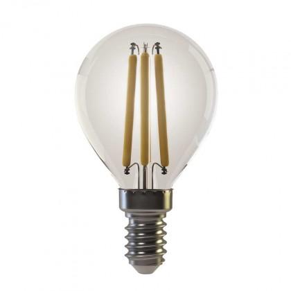 LED žiarovka LED žiarovka Emos Z74230, E14, 6w, guľatá, retro, teplá biela