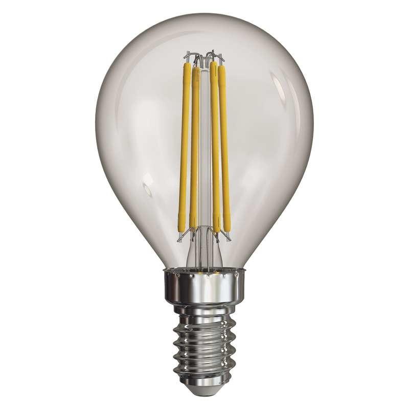 LED žiarovka LED žiarovka Emos Z74231, E14, 4W, guľatá, neutrálna biela