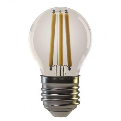 LED žiarovka LED žiarovka Emos Z74240, E27, 4W, guľatá, retro, teplá biela