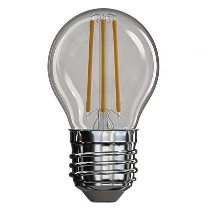 LED žiarovka LED žiarovka Emos Z74241, E27, 4W, guľatá, neutrálna biela