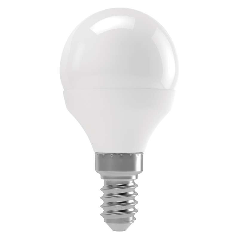 LED žiarovka LED žiarovka Emos ZL1223, E14, 6W, guľatá, teplá biela