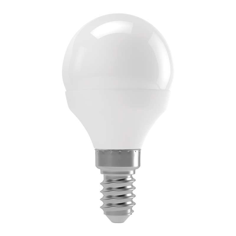 LED žiarovka LED žiarovka Emos ZQ1210, E14, 4W, mini, číra, teplá biela