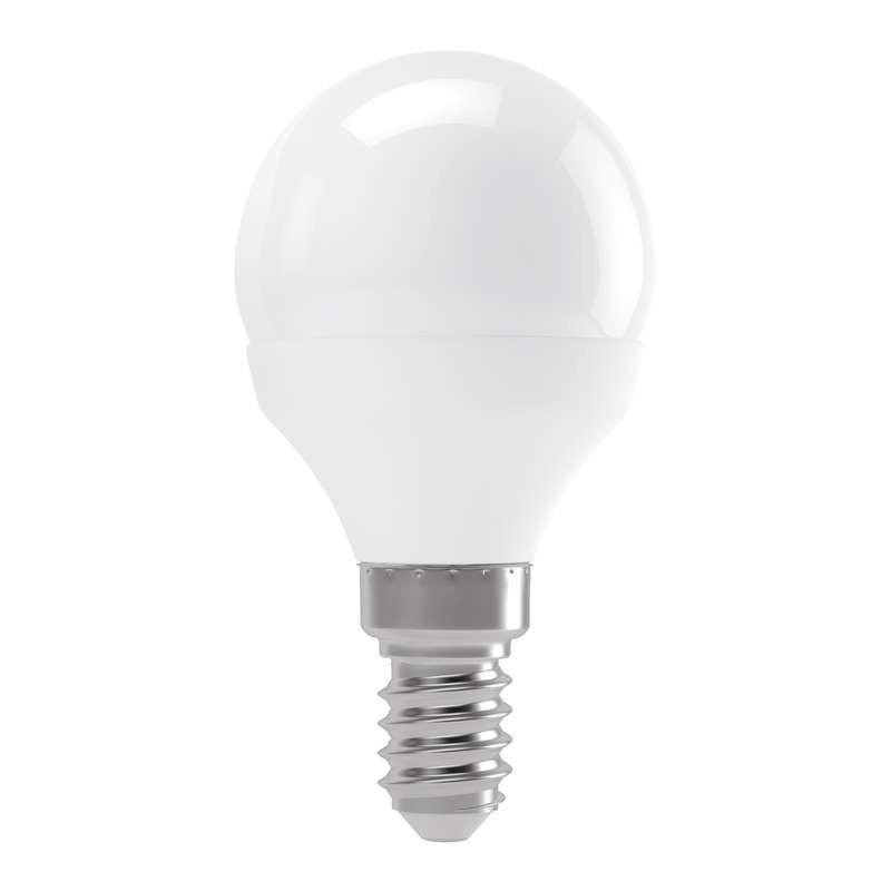 LED žiarovka LED žiarovka Emos ZQ1211, E14, 4W, mini, číra, neutrálna biela