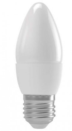 LED žiarovka LED žiarovka Emos ZQ3110, E27, 4W, sviečka, matná, teplá biela