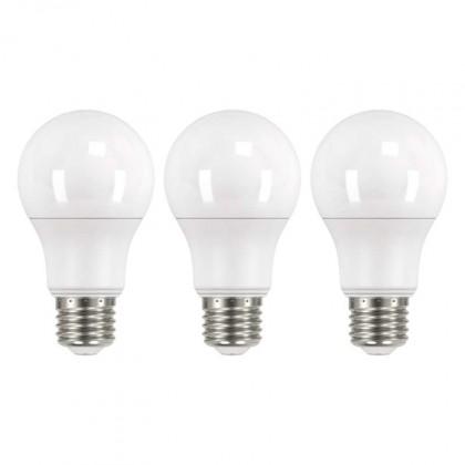 LED žiarovka LED žiarovka Emos ZQ51403, E27, 9W, teplá biela, 3 ks