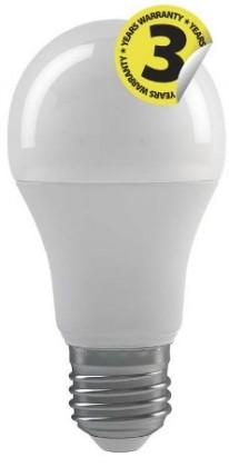 LED žiarovka LED žiarovka Emos ZQ5141, E27, 9W, guľatá, číra, neutrálna biela