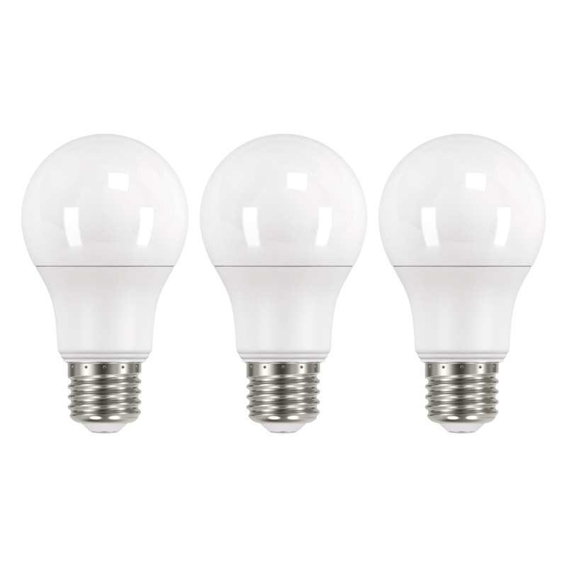 LED žiarovka LED žiarovka Emos ZQ51413, E27, 9W, neutrálna biela, 3 ks