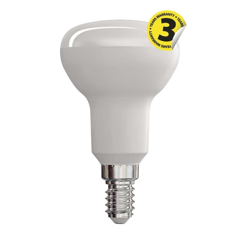 LED žiarovka LED žiarovka Emos ZQ7220, E14, 6W, reflektorová, teplá biela