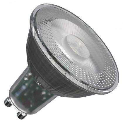 LED žiarovka LED žiarovka Emos ZQ8333, GU10, 4,2W, číra, teplá biela
