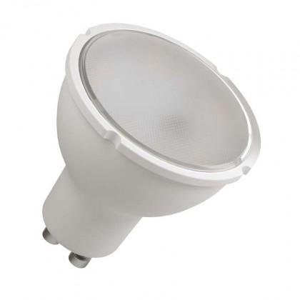 LED žiarovka LED žiarovka Emos ZQ8340, GU10, 4,5W, číra, teplá biela