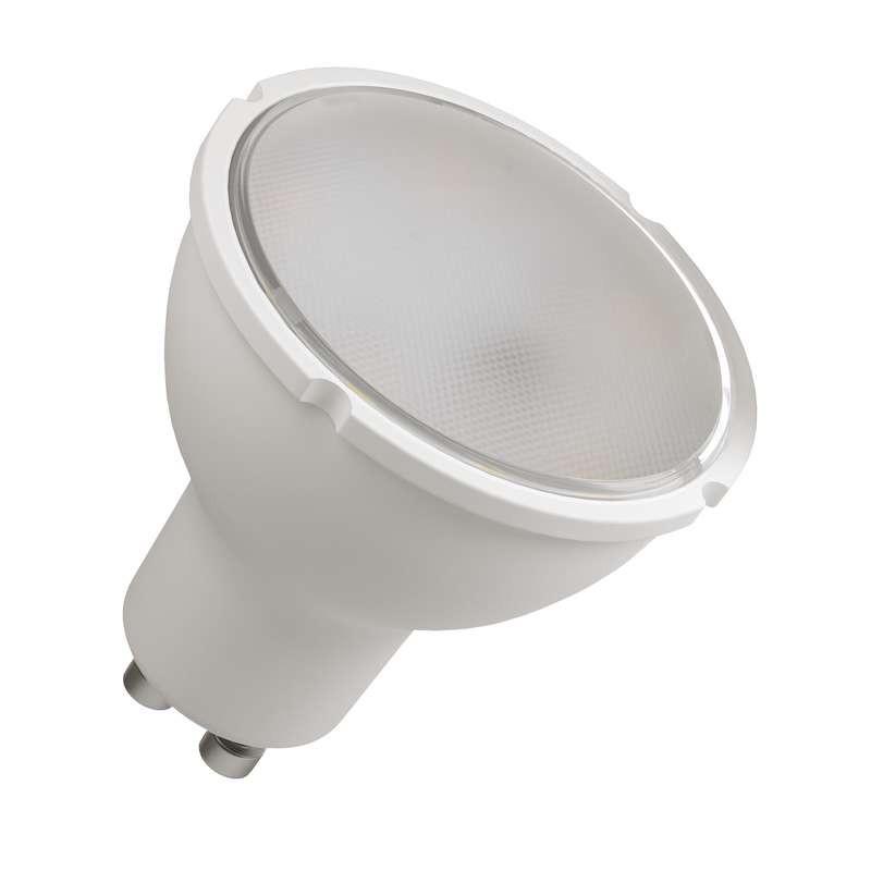 LED žiarovka LED žiarovka Emos ZQ8351, GU10, 5,5W, číra, neutrálna biela
