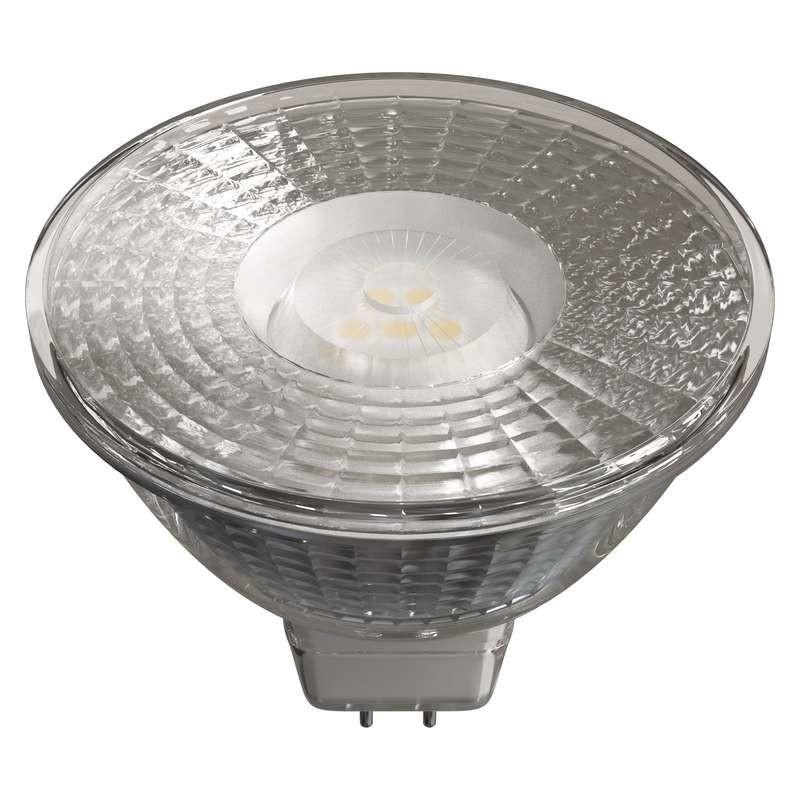 LED žiarovka LED žiarovka Emos ZQ8433, GU5.3, 4,5W, číra, teplá biela