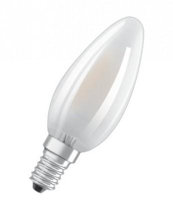LED žiarovka LED žiarovka Osram BASE, E14, 4W, sviečka, teplá biela, 5 ks