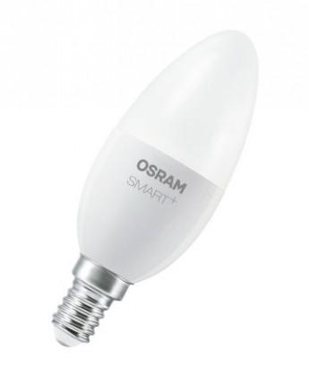 LED žiarovka LED žiarovka Osram Smart +, E14, 6W, sviečka, teplá biela