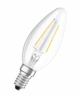 LED žiarovka LED žiarovka Osram STAR, E14, 2,8W, sviečka, retro, teplá biela