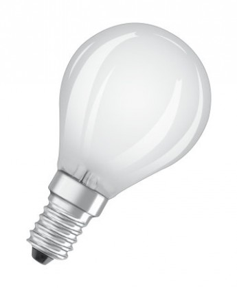 LED žiarovka LED žiarovka Osram STAR, E14, 4W, guľatá, retro, neutrálna biela
