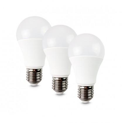 LED žiarovka LED žiarovka Solight WZ5293, E27, 10W, guľatá, teplá biela, 3ks