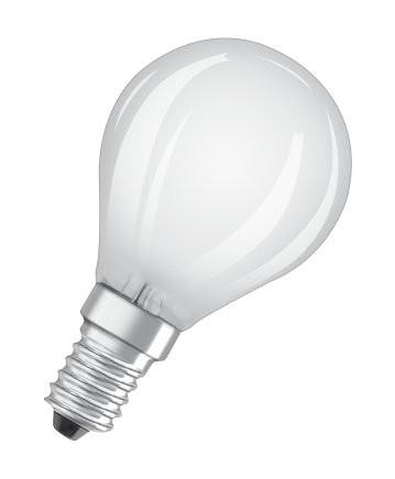 LED žiarovka Osram STAR, E14, 4W, guľatá, retro, neutrálna biela