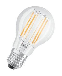 LED žiarovka Osram STAR, E27, 8W, retro, studená biela