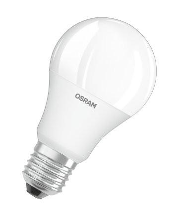 LED žiarovka Osram STAR +, E27, 9W, stmievateľná, teplá biela