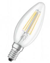 LED žiarovka Osram VALUE, E14, 4W, sviečka, retro, teplá biela