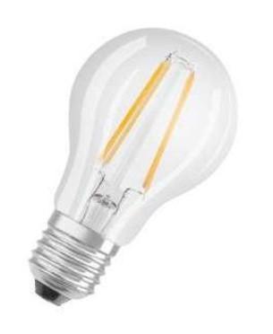 LED žiarovka Osram VALUE, E27, 7W, retro, teplá biela