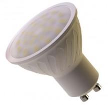 LED žiarovka reflektorová 7W GU10 teplá biela