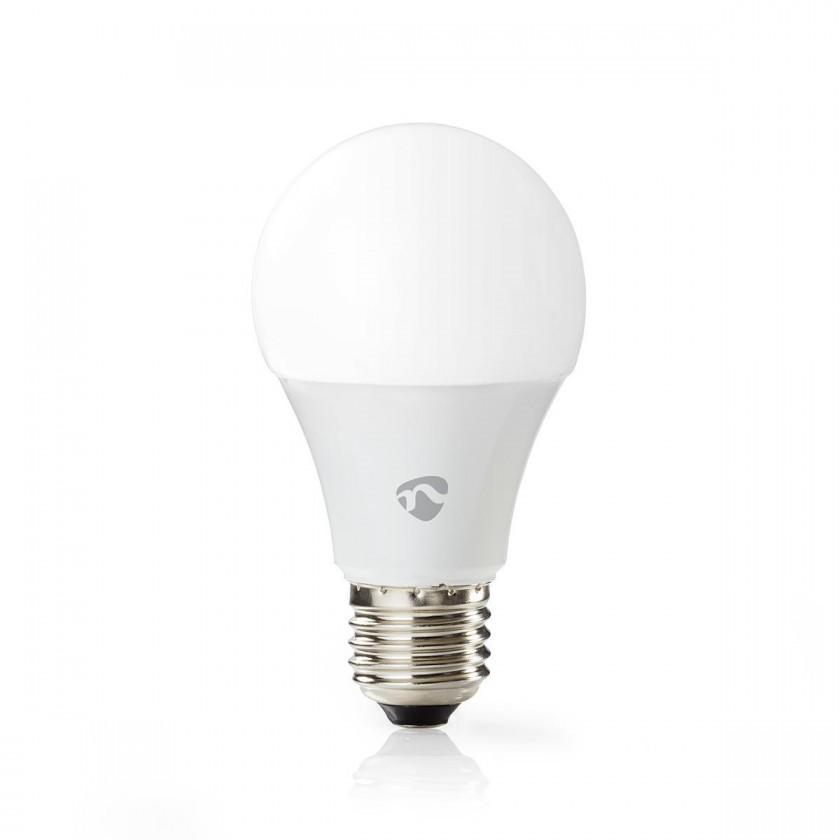 LED žiarovka SMART LED žiarovka Nedis WIFILC11WTE27, E27, farebná/biela