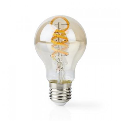 LED žiarovka SMART LED žiarovka Nedis WIFILT10GDA60, E27, 5,5W, guľatá, biela