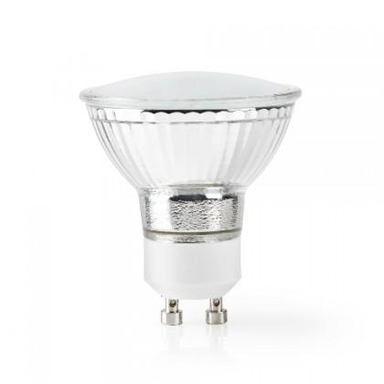 LED žiarovka SMART LED žiarovka Nedis WIFILW10CRGU10, GU10, biela