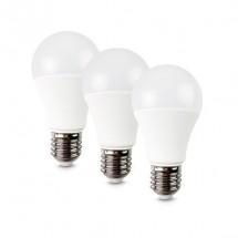 LED žiarovka Solight WZ5293, E27, 10W, guľatá, teplá biela, 3ks