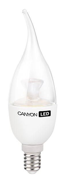 LED žiarovky Canyon LED COB žárovka, E14, BXS38, průhledná, 6W
