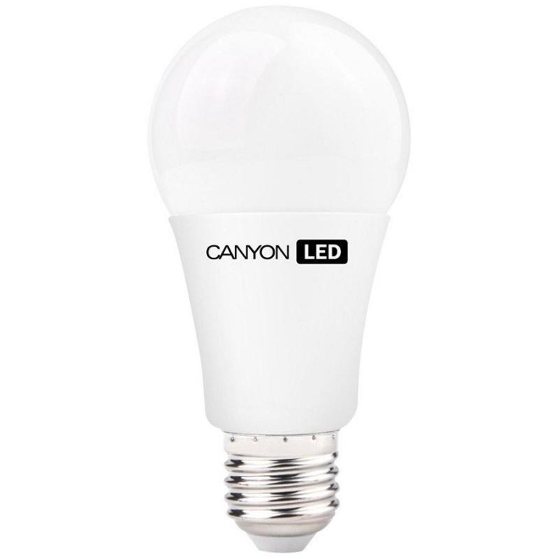 LED žiarovky CanyonLEDCOBžiarovka, E27, guľatá, 10W, teplá biela