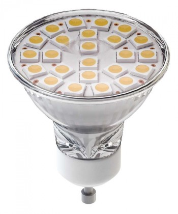 LED žiarovky  Emos Dichro.24LED 5050 4W GU10 WW